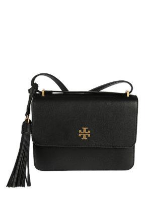 Tory Burch: shoulder bags - Brooke leather shoulder bag
