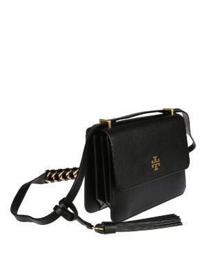 Tory Burch: shoulder bags online - Brooke leather shoulder bag