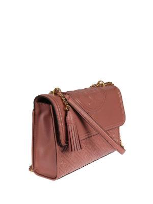 Tory Burch: shoulder bags online - Fleming leather shoulder bag