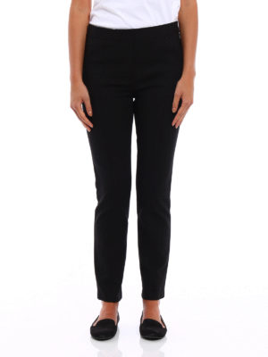 Tory Burch: Tailored & Formal trousers online - Vanner cigarette trousers
