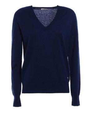Tory Burch: v necks - Marilyn cashmere sweater