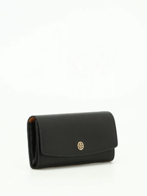 Tory Burch: wallets & purses online - Parker continental leather wallet