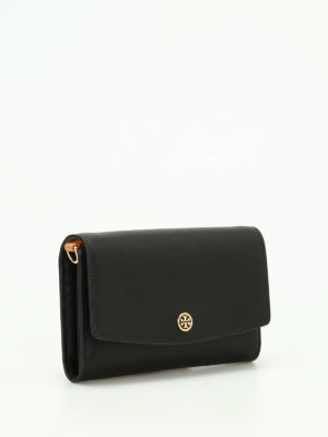 Tory Burch: wallets & purses online - Parker wallet with shoulder strap