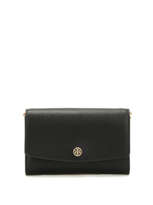 Tory Burch: wallets & purses - Parker wallet with shoulder strap