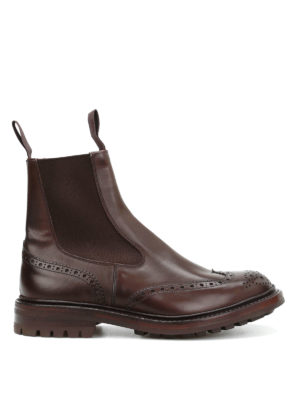 Tricker's: boots - Henry Commando brogued boots