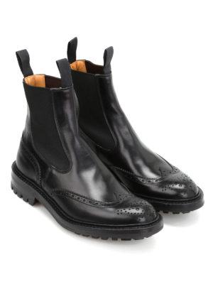 Tricker's: boots online - Henry Commando brogued boots