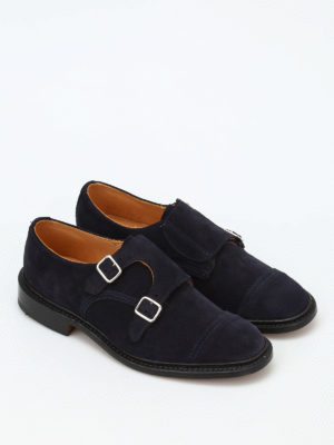 Tricker's: classic shoes online - Rufus double buckle monk strap