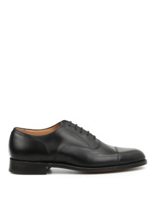 Tricker's: classic shoes - Oxford leather lace-ups