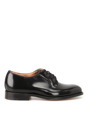 Tricker's: classic shoes - Robert brushed leather Derby shoes