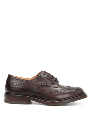 Tricker's: lace-ups shoes - Bourton leather brogues