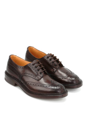 Tricker's: lace-ups shoes online - Bourton leather brogues