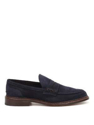 Tricker's: Loafers & Slippers - Adam suede loafers