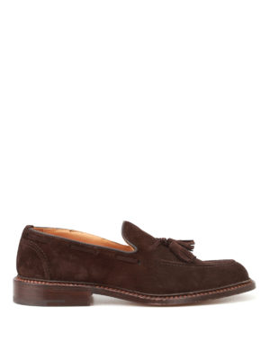 Tricker's: Loafers & Slippers - Elton suede loafers