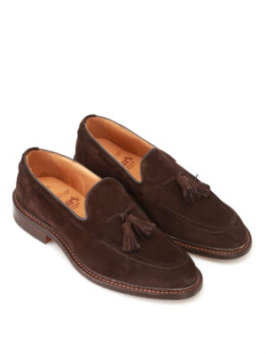 Tricker's: Loafers & Slippers online - Elton suede loafers