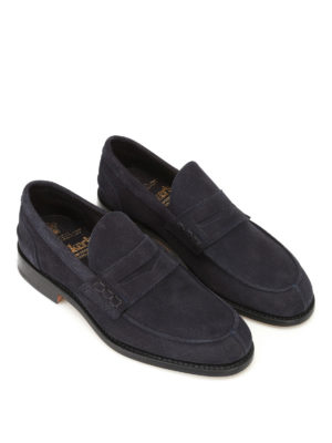 Tricker's: Loafers & Slippers online - Jake suede loafers