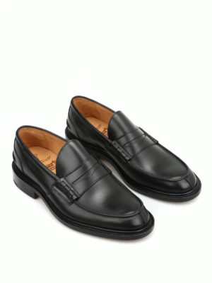 Tricker's: Loafers & Slippers online - Leather James loafers