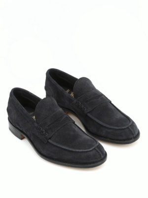 Tricker's: Loafers & Slippers online - Suede Jake loafers