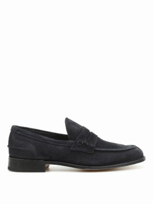 Tricker's: Loafers & Slippers - Suede Jake loafers