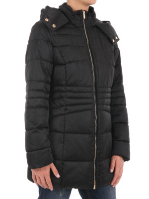 Trussardi: casual jackets online - Quilted padded jacket with hood