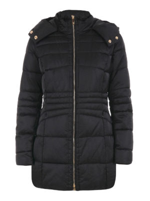 Trussardi: casual jackets - Quilted padded jacket with hood