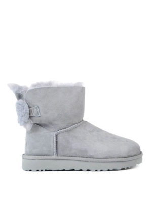 Ugg: ankle boots - Arielle bow grey ankle boots