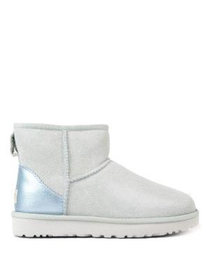 Ugg: ankle boots - Classic Mini Metallic booties