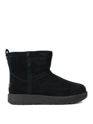 Ugg: ankle boots - Classic mini waterproof black boots