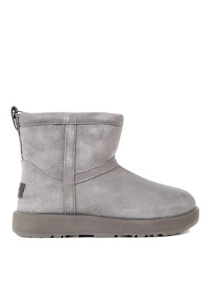 Ugg: ankle boots - Classic mini waterproof grey boots