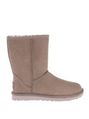 Ugg: ankle boots - Classic Short Leather booties