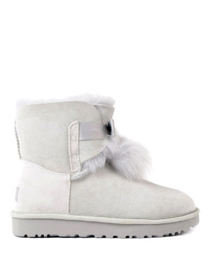 Ugg: ankle boots - Gita grey suede booties