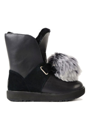 Ugg: ankle boots - Isley fur lined ankle boots