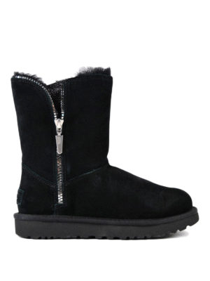 Ugg: ankle boots - Marice black suede booties