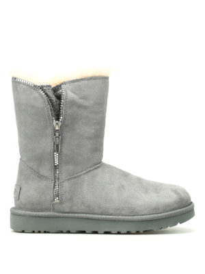 Ugg: ankle boots - Marice grey suede booties