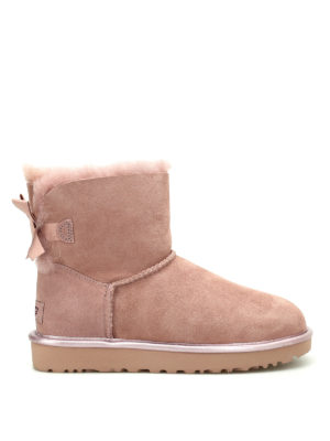 Ugg: ankle boots - Mini Bailey Bow II ankle boots