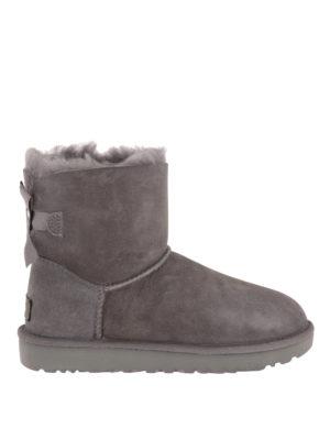 Ugg: ankle boots - Mini Bailey Bow II booties