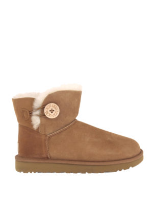 Ugg: ankle boots - Mini Bailey Button II booties