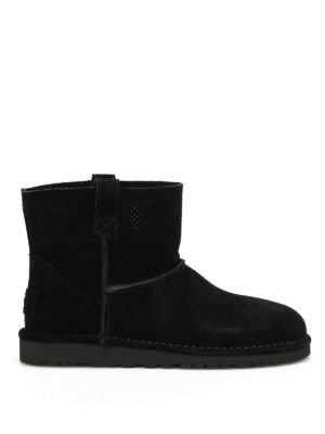 Ugg: ankle boots - Mini Perf suede ankle boots