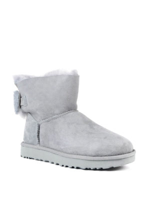 Ugg: ankle boots online - Arielle bow grey ankle boots