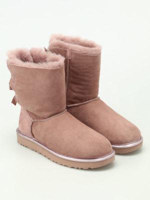 Ugg: ankle boots online - Bailey Bow II Metallic booties