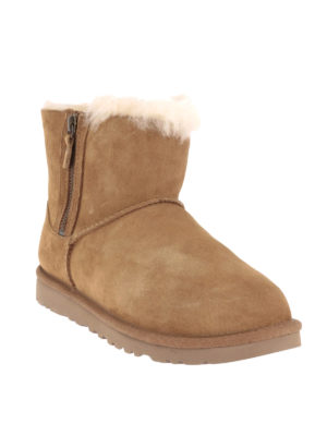 Ugg: ankle boots online - Classic Mini double zip booties
