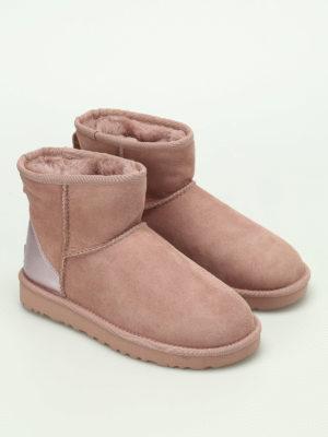 Ugg: ankle boots online - Classic Mini II metallic booties