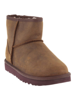 Ugg: ankle boots online - Classic Mini Leather booties