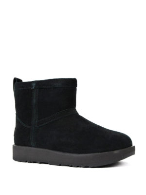 Ugg: ankle boots online - Classic mini waterproof black boots