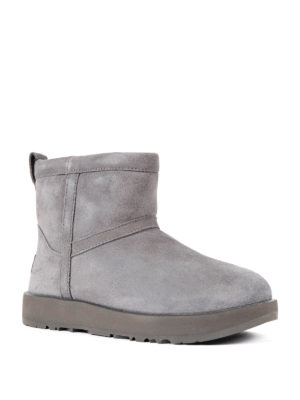 Ugg: ankle boots online - Classic mini waterproof grey boots