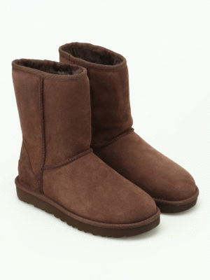 Ugg: ankle boots online - Classic Short II brown ankle boots
