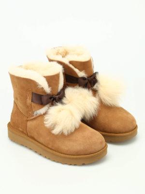 Ugg: ankle boots online - Gita beige suede booties