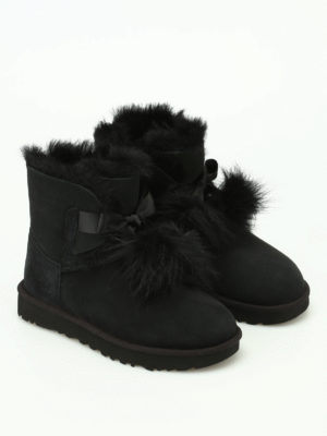 Ugg: ankle boots online - Gita black suede booties