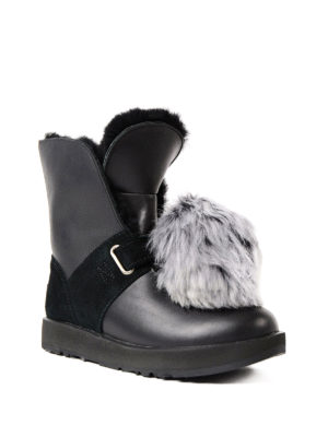 Ugg: ankle boots online - Isley fur lined ankle boots
