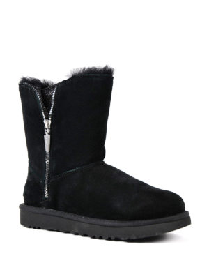 Ugg: ankle boots online - Marice black suede booties