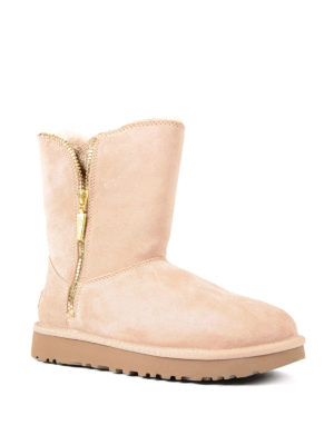 Ugg: ankle boots online - Marice pink suede booties